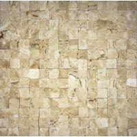 Mosaico-de-marmore-Leblon-28x28cm-bege-Trento-1583689